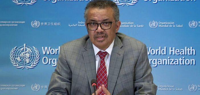 المدير العام لمنظمة الصحة العالمية يشدد على ضرورة عدم تسييس جائحة كورونا