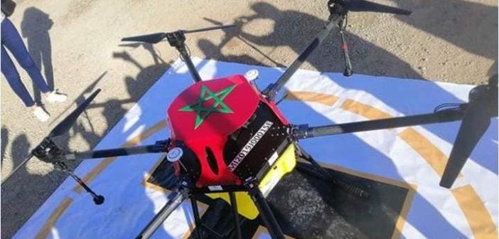 طائرات صغيرة بدون طيار بمكبرات صوت موجهة للتحسيس بالجائحة بالمغرب